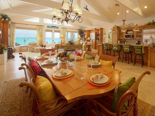 Single Family Home for Sale at Beachfront Estate, Ocean Boulevard Treasure Cay, Abaco Bahamas