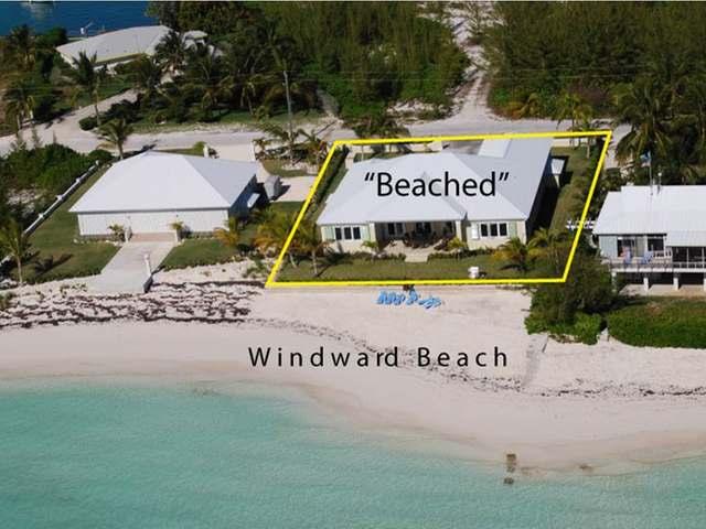 Single Family Home for Sale at Beached, 56 Windward Beach Windward Beach, Treasure Cay, Abaco Bahamas