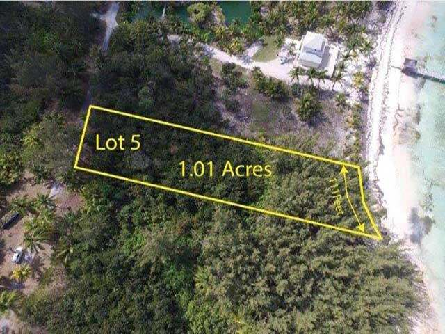 Land for Sale at Turtle Rocks Lot 5, Turtle Rocks Beach Leisure Lee, Abaco Bahamas