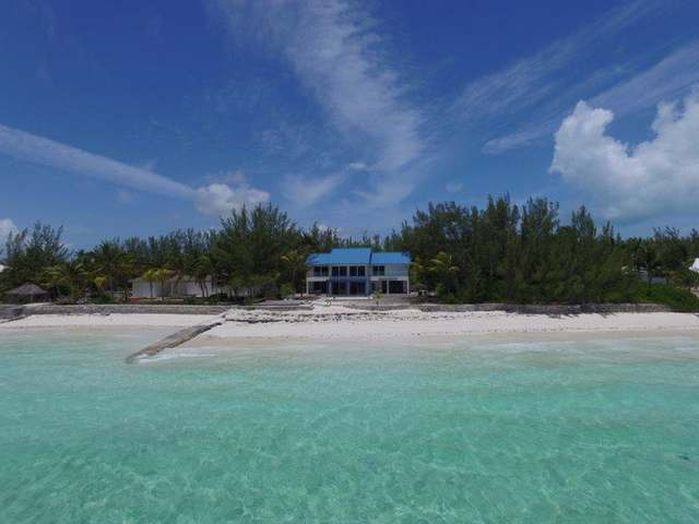 "Single Family Home for Sale at ""Kasbah"" Beach Home, Windward Beach Windward Beach, Treasure Cay, Abaco Bahamas"