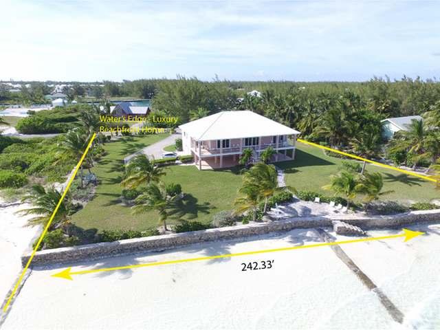 Single Family Home for Sale at Water's Edge, Windward Beach Windward Beach, Treasure Cay, Abaco Bahamas