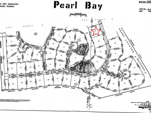 土地,用地 为 销售 在 Pearl Bay Canal Lot!, 27 Pearl Close Peral Bay, Grand Bahama 巴哈马
