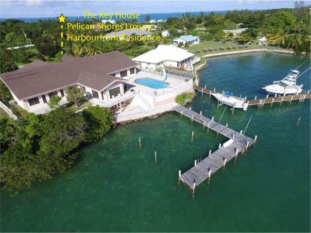 Casa Unifamiliar por un Venta en The Key House, Pelican Shores Home Pelican Shores, Marsh Harbour, Abaco Bahamas