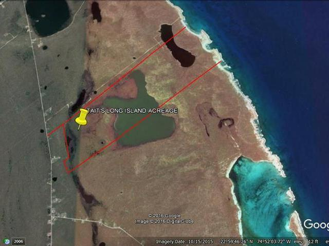 Comercial por un Venta en 556.77 Acres Long Is, Tait's Long Island Taits, Long Island Bahamas