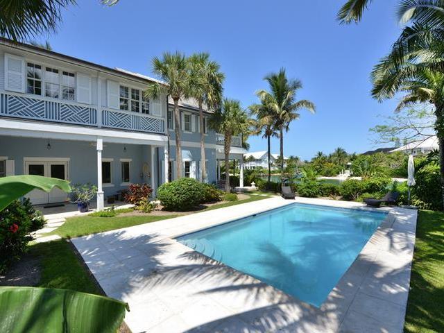 Casa Unifamiliar por un Alquiler en #7 Beach Island, OFB, 7 Old Fort Bay Islands At Old Fort Bay, Old Fort Bay, Nueva Providencia / Nassau Bahamas