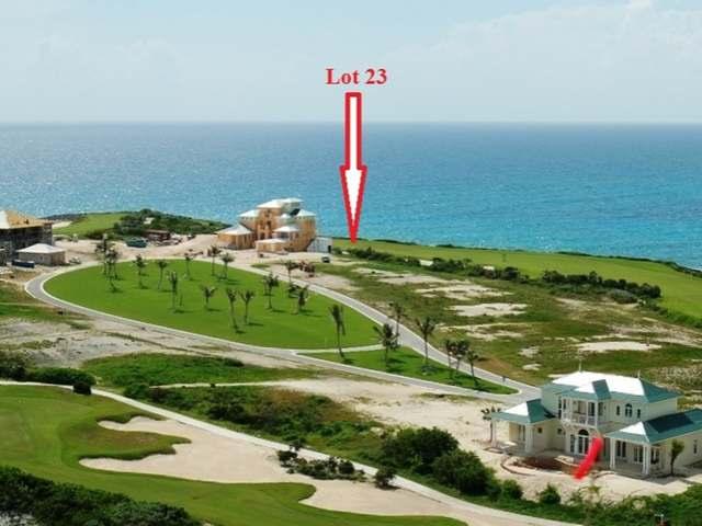 Land for Sale at Ocean Ridge Drive Emerald Bay, Exuma Bahamas
