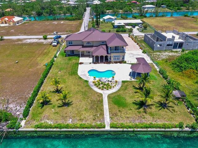 Single Family Home for Sale at WATERFRONT ESTATE, Waterfront Home Bahamia Bahamia South, Bahamia, Freeport And Grand Bahama Bahamas