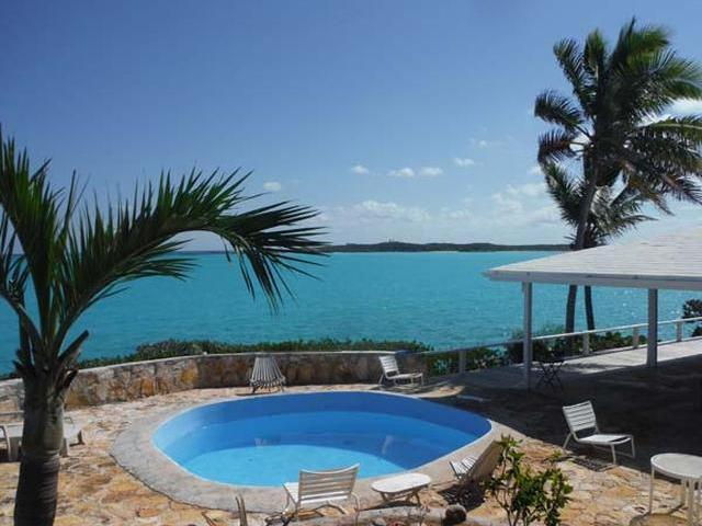 Single Family Home for Sale at Water Front Property, Old Hoopers Bay Hoopers Bay, Exuma Bahamas